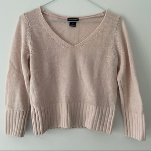 Club Monaco Crop Sweater